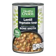 Healthy Choice Lentil Vegetable Bone Broth Soup