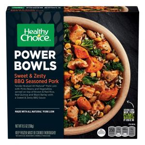 Healthy Choice Power Bowls Sweet & Zesty BBQ Seasoned Pork