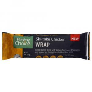 Healthy Choice Shiitake Chicken Wrap