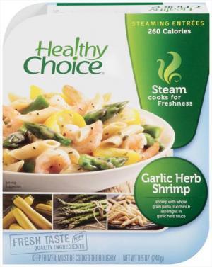 Healthy Choice Lunch Steamer Garlic Herb Shrimp