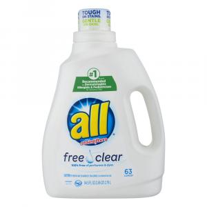 All 2x Free & Clear Liquid Detergent