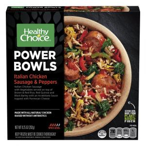 Healthy Choice Power Bowls Italian Chicken Sausage & Peppers