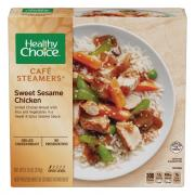 Healthy Choice Cafe Steamer Sweet Sesame Chicken