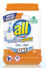 All Free & Clear Oxi 4N1 Pac