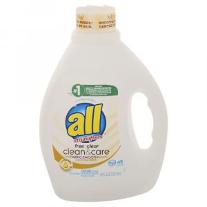 All Free & Clear Clean & Care Laundry Detergent Vitamin E