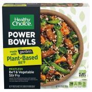 Healthy Choice Meatless Be'f & Vegetable Stir Fry Power Bowl
