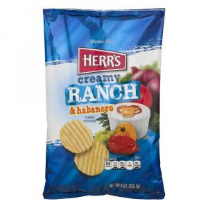 Herr's Creamy Ranch & Habanero Potato Chips