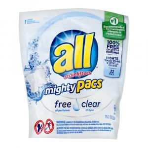 All Mighty Pacs Free & Clear