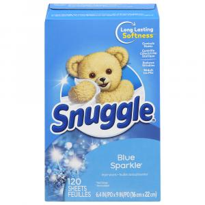 Snuggle Blue Sparkle Fabric Softener Sheets