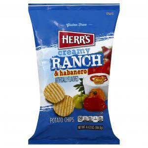 Herr's Creamy Habanero Ranch Chips