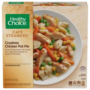 Healthy Choice Steamer Crustless Chicken Pot Pie