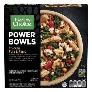 Healthy Choice Power Bowls Chicken Feta & Farro