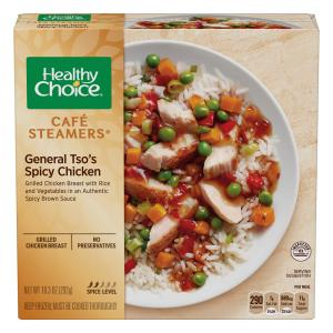 Healthy Choice Cafe Steamers General Tso's Spicy Chicken