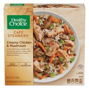 Healthy Choice Cafe Steamers Creamy Chicken & Mushroom