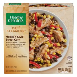 Healthy Choice Cafe Steamers Mexican-Style Street Corn