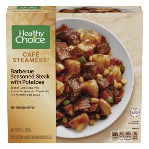 Healthy Choice Cafe Steamer Whiskey Steak