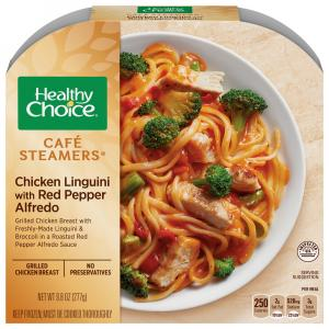 Healthy Choice Cafe Steamers Chicken, Red Peppers & Alfredo