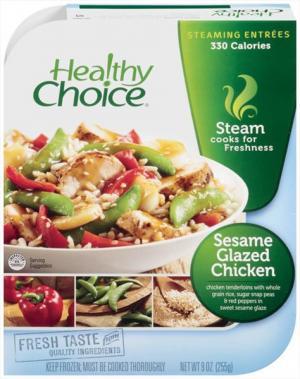 Healthy Choice Lunch Steamer Sesame Glazed Chicken