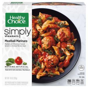 Healthy Choice Simply Steamers Meatball Marinara