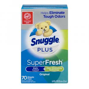 Snuggle Plus Everfresh Scent Sheets