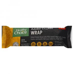Healthy Choice Wrap Chicken Adobo
