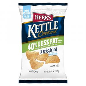 Herr's Reduced Fat Kettle Cooked Potato Chips