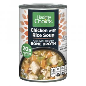 Healthy Choice Chicken with Rice Bone Broth Soup