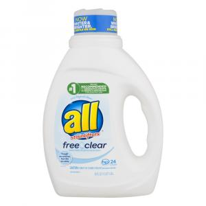 All With Stainlifters Free Clear Laundry Detergent