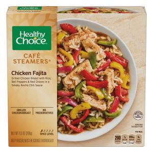 Healthy Choice Cafe Steamers Chicken Fajita
