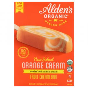 Alden's Organic Orange Cream Bars