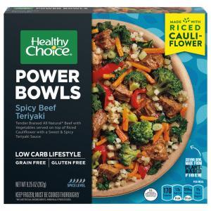 Healthy Choice Power Bowls Spicy Beef Teriyaki