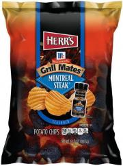Herr's McCormick Grill Mates Montreal Steak Chips