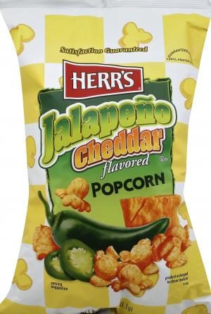 Herr's Jalapeno Cheddar Flavored Popcorn