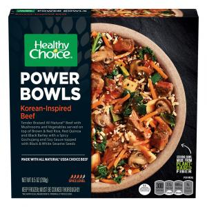 Healthy Choice Power Bowls Korean-Inspired Beef Bowl