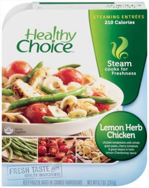 Healthy Choice Cafe Steamer Lemon Herb Chicken