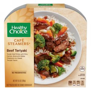 Healthy Choice Cafe Steamers Beef Teriyaki