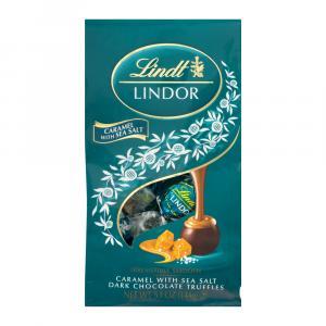 Lindt Caramel with Sea Salt Dark Chocolate Truffles