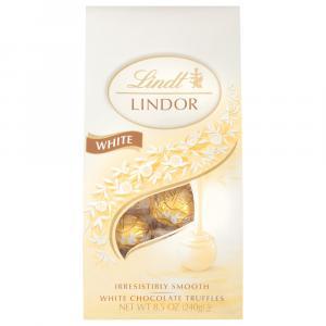 Lindt Lindor White Chocolate Truffles Bag