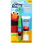 Baby Orajel Elmo Tooth & Gum Cleanser Apple/Banana w/Brush