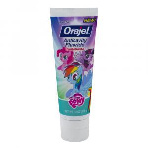 Orajel My Little Pony Fluoride Toothpaste