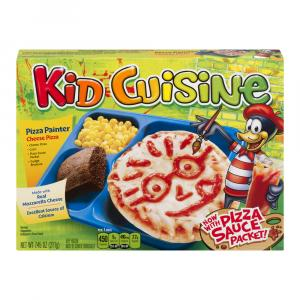 Kid Cuisine Cheese Stuffed Crust Pizza Meal