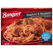 Banquet Classic Spaghetti and Meatballs