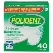 Polident Denture Cleanser Tablets