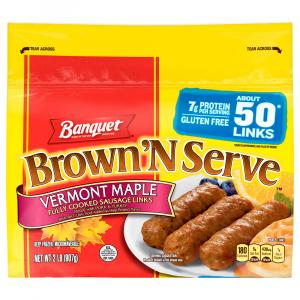 Banquet Value Pack Brown 'N Serve Maple Sausage Links