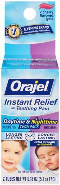 Baby Orajel Day & Night Teething Gel