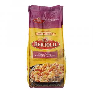 Bertolli Three Cheese Tortellini With Bacon