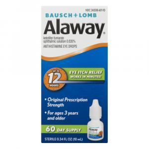Bausch + Lomb Alaway Antihistamine Eye Drops