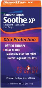 Bausch & Lomb Soothe Xp Dry Eye Drops