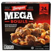 Banquet Mega Bowl Dynamite Penne & Meatballs