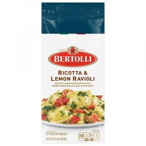 Bertolli Ricotta Lemon Ravioli